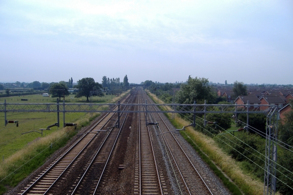 West Coast main line north of Crewe