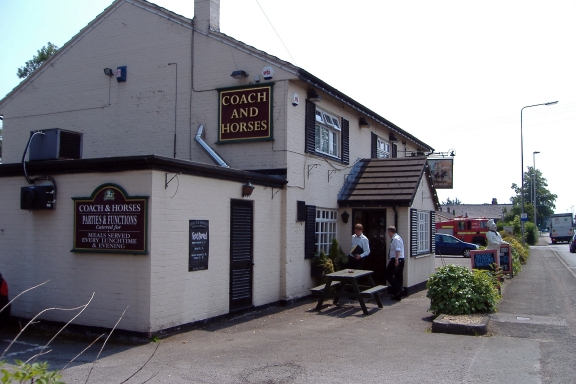 Coach and Horses PH at Bradfield Green