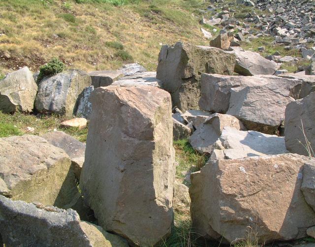 Blocks of Fletcher Moss Grit