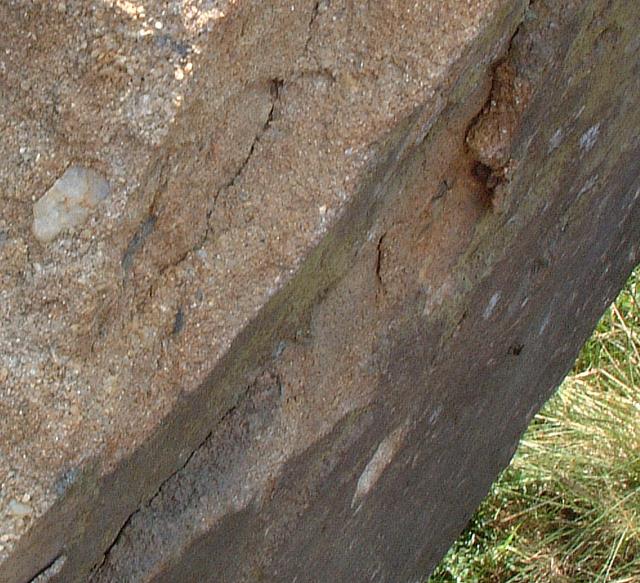 Coarse Grained Sandstone at Black Coppice Quarry