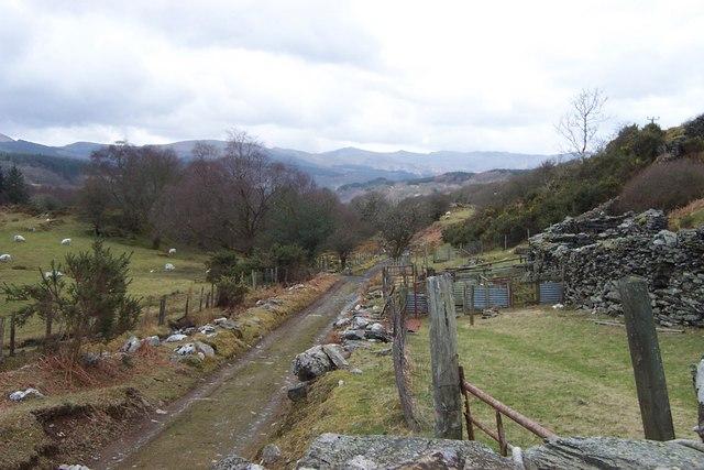Sarn Helen Roman road
