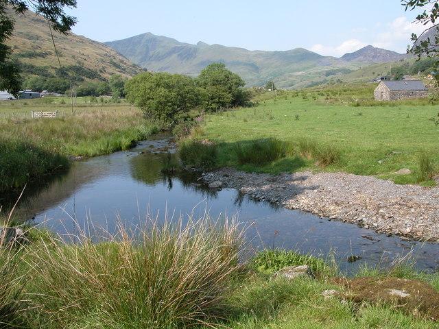 Afon Dwyfor in Cwm Pennant