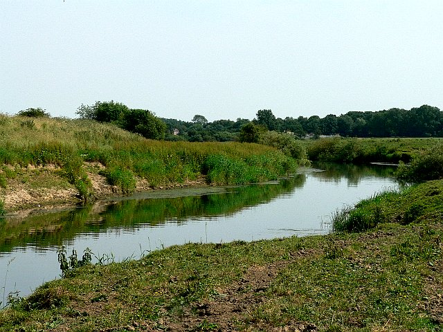 Looking Downriver from the Derwent Bridge