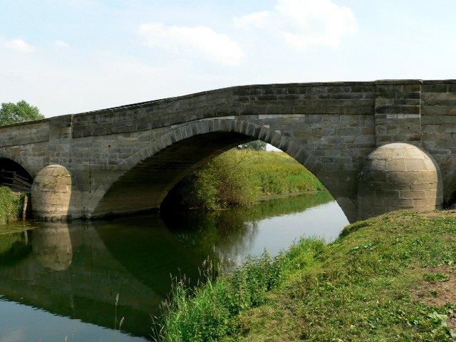 Through the Arch of the Derwent Bridge