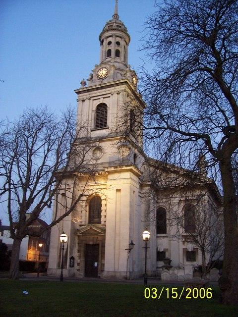 St Alfege Church (1714),  Greenwich Church Street
