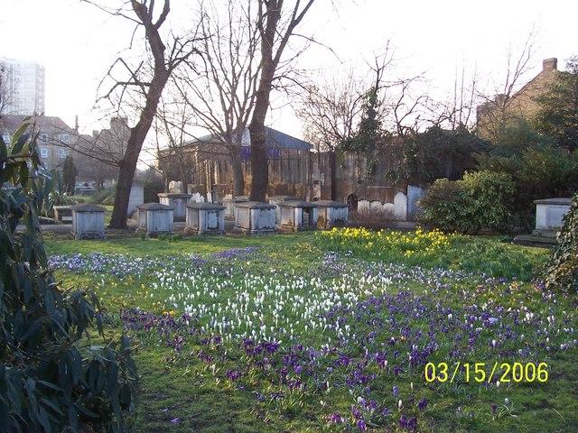 St Alfege Churchyard
