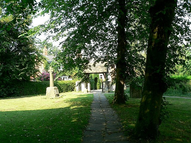 Its Lych Gate from Bubwith Parish Church