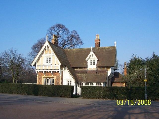 Greenwich Park Blackheath Gate Lodge