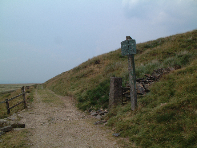 Ramblers Association Footpath Sign