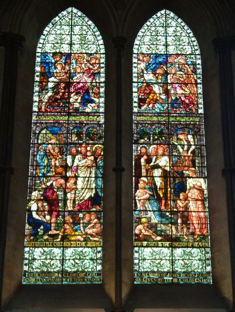 Salisbury Cathedral - Stained Glass Window