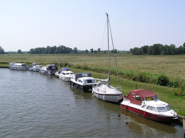 View south from Ludham Bridge