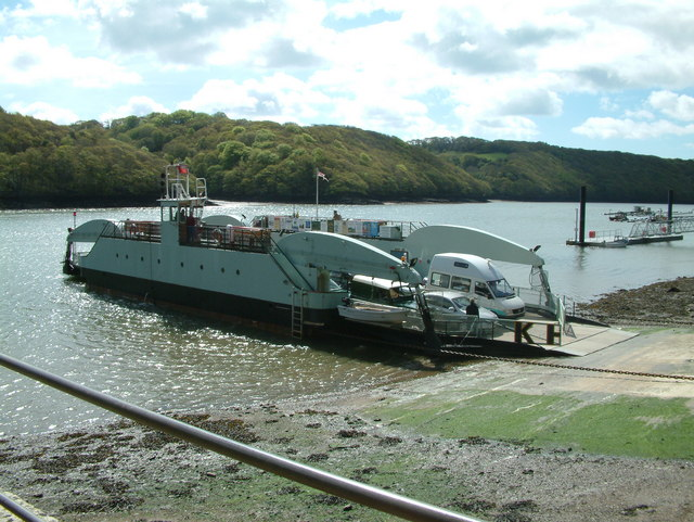 King Harry Ferry on the River Fal