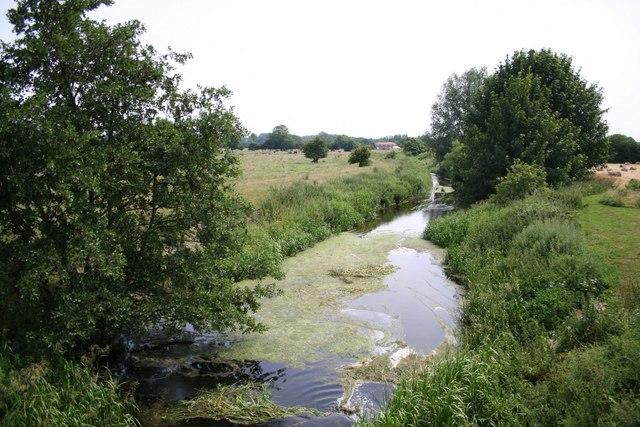 River Bain from Redmill Bridge