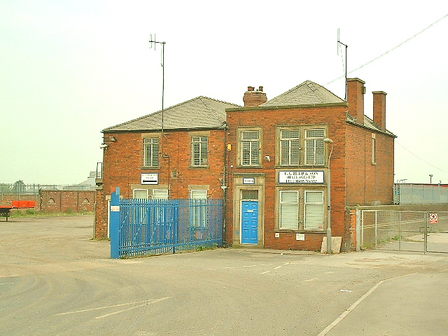 Goole, Original Gas Works Building