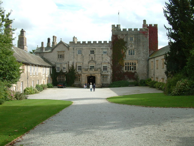 Sizergh Castle owned by the National Trust