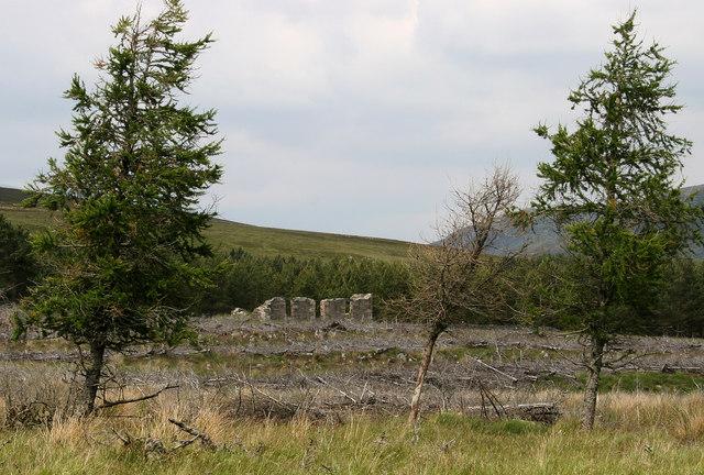 Ruigh nan Clach - near to Geldie Burn Deeside