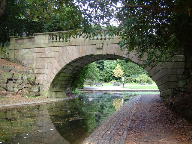 Williamson Park - Bridge over lake