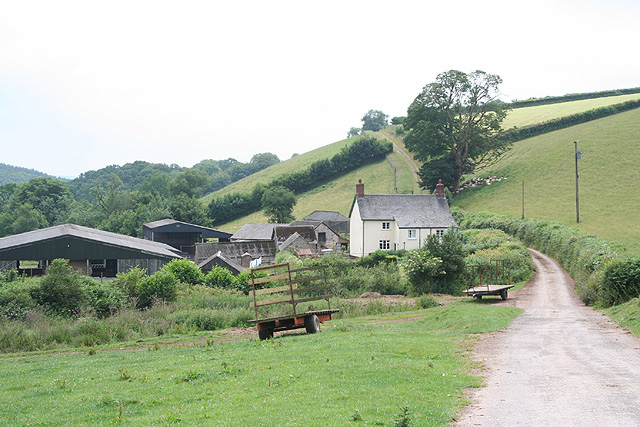 Brompton Regis: Lyncombe Farm
