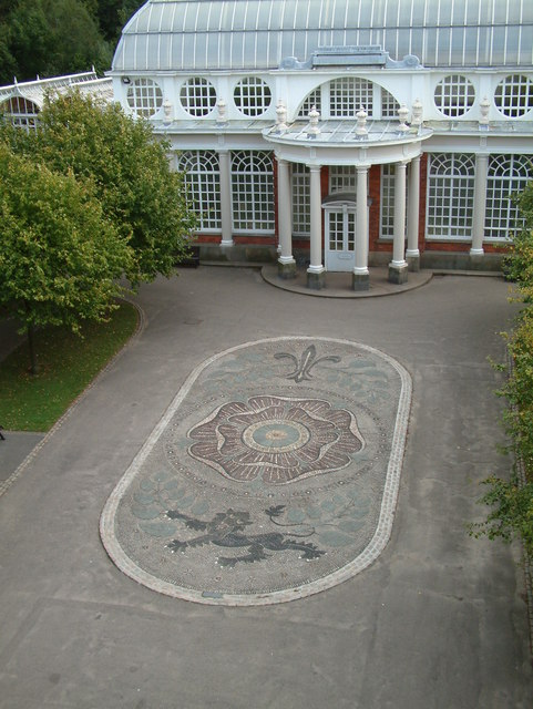 Williamson Park - Mosaic picture