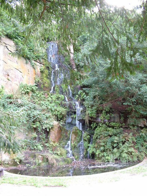 Williamson Park - Waterfall