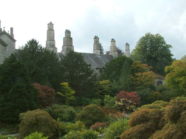 Sizergh Castle Garden owned by the National Trust