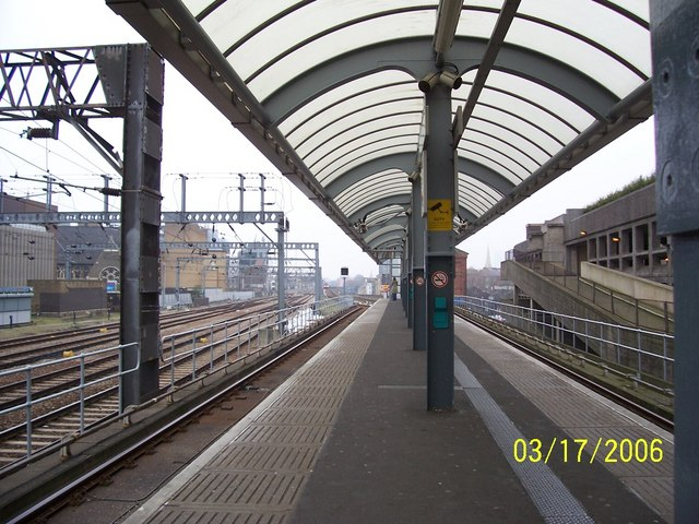 Docklands Light Railway Tower Gateway Station Platform