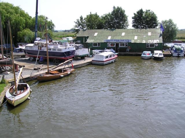 Ludham Bridge boat yard