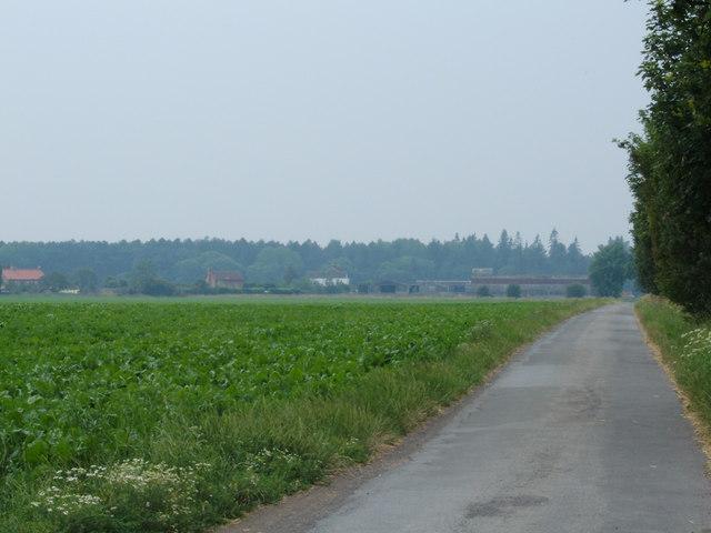 To Cawood Hagg Farm