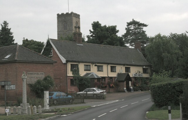 Fressingfield Church and War Memorial