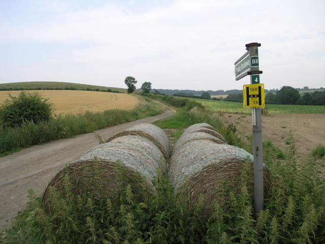 Bridleway and Bales