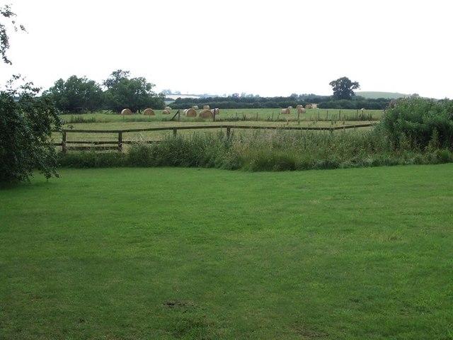 Fields & Hay Bales