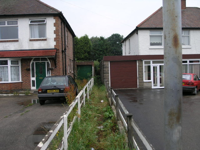 Footpath Between the Houses