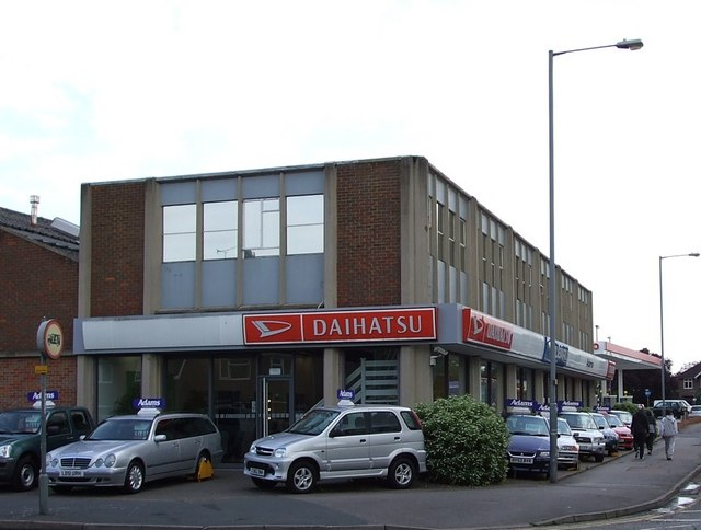Daihatsu dealership, Aylesbury