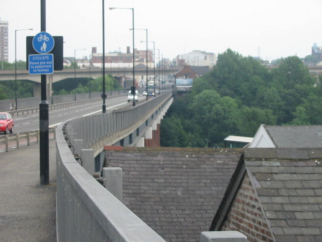 Byker Bridge Walkway