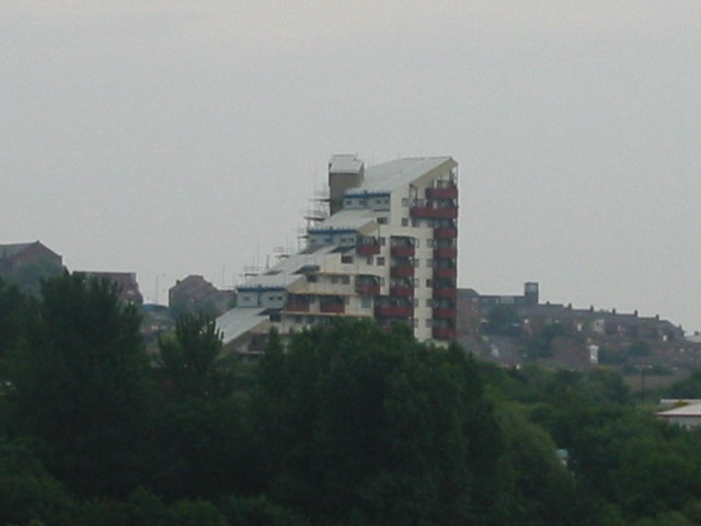 Tom Collins House From Byker Bridge