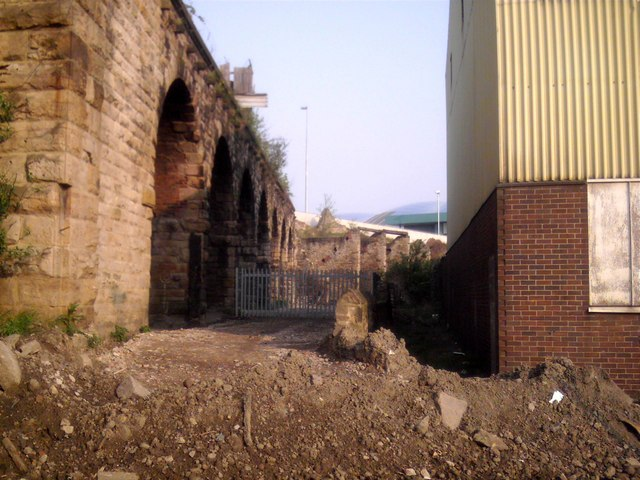 Old Viaduct and Wasteland