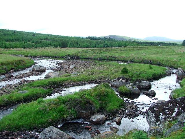 Strath Rannoch River