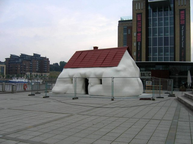 Melting House On Baltic Square