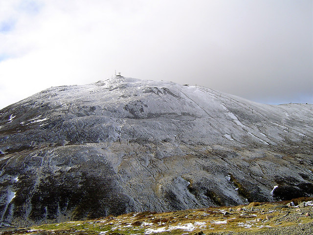 A view of The Cairnwell