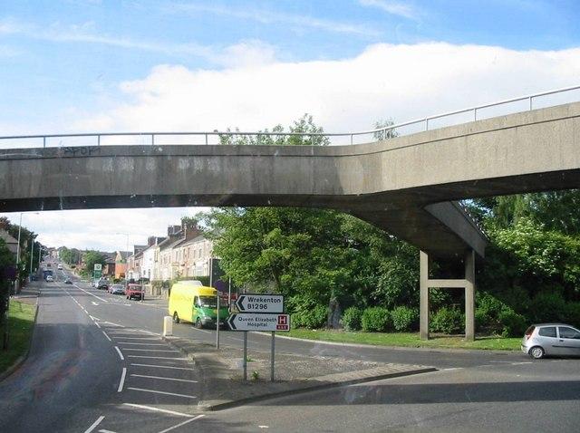 Old Durham Road Footbridge