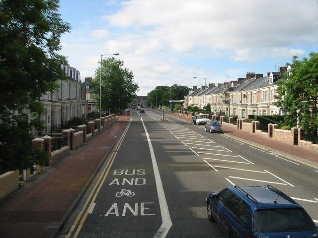 Durham Road Southbound