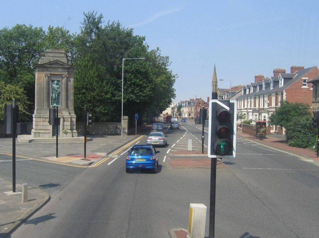 Cenotaph on Durham Road