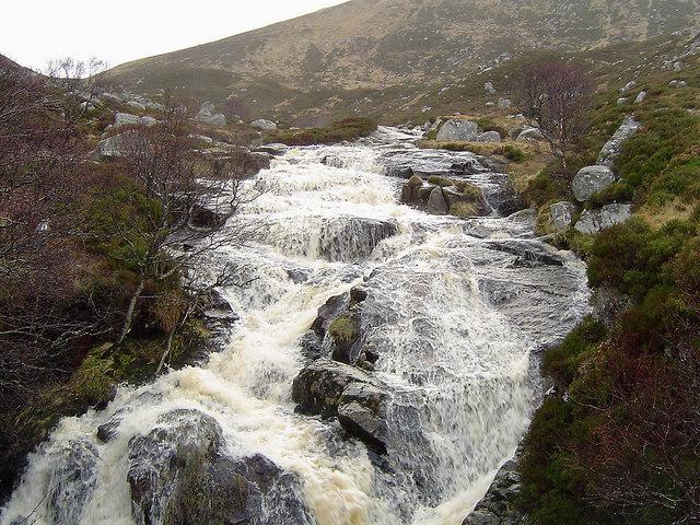 Loch Muick Waterfall