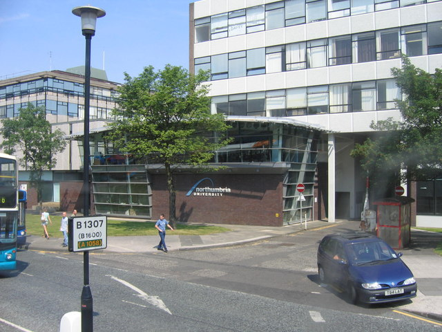 Northumbria University on Sandyford Road
