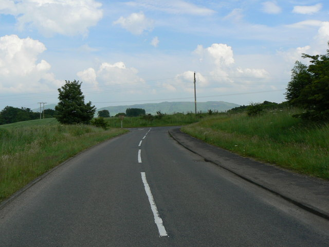 Road from Tillywhally