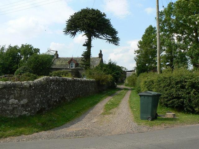 Village street in Middleton
