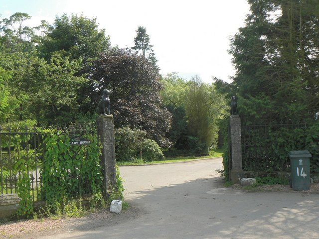 Arlary House gates