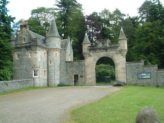 Entrance to Blair Castle
