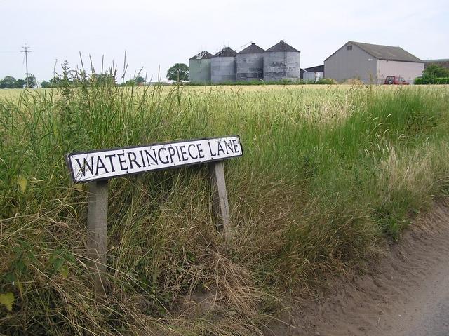 Wateringpiece Lane, Sharp Street