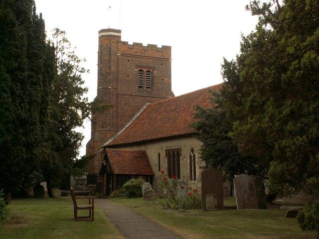 All Saints church, Nazeing, Essex